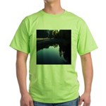 River Reflections Green T-Shirt