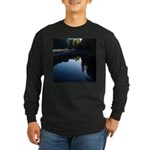 River Reflections Long Sleeve Dark T-Shirt