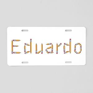 Eduardo Pencils Aluminum License Plate
