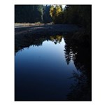 River Reflections Small Poster