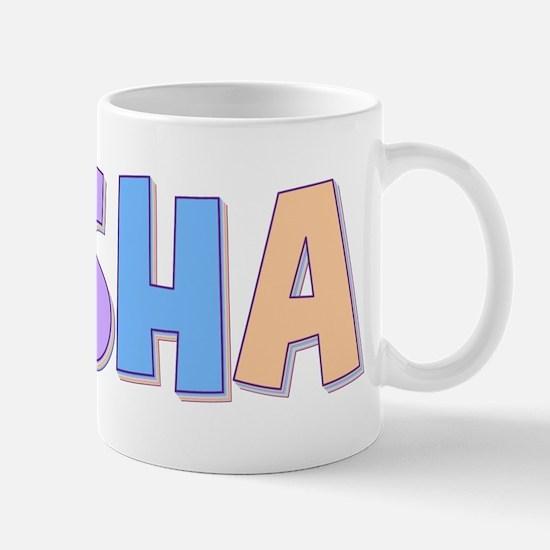 Sasha Rainbow Pastel Mug