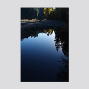 River Reflections Mini Poster Print