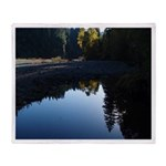 River Reflections Throw Blanket