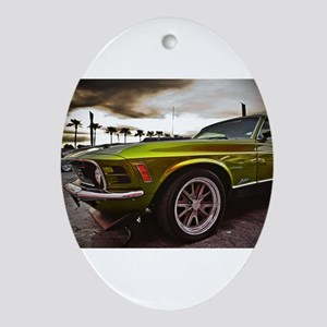 70 Mustang Mach 1 Ornament (Oval)