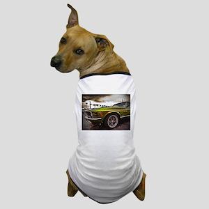 70 Mustang Mach 1 Dog T-Shirt