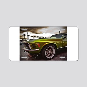 70 Mustang Mach 1 Aluminum License Plate