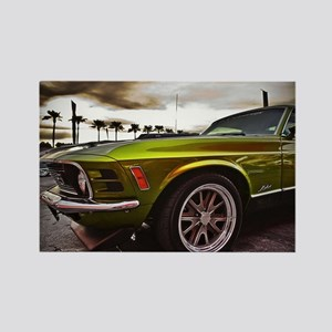 70 Mustang Mach 1 Rectangle Magnet