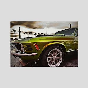 70 Mustang Mach 1 Rectangle Magnet