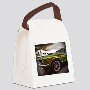 70 Mustang Mach 1 Canvas Lunch Bag