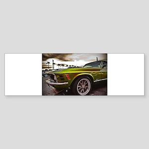 70 Mustang Mach 1 Sticker (Bumper)