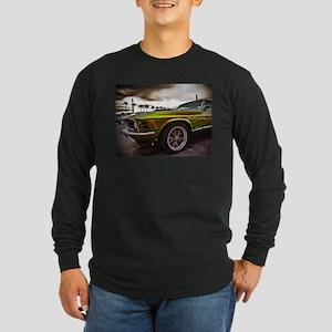 70 Mustang Mach 1 Long Sleeve Dark T-Shirt