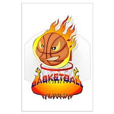 Basketball Large Poster