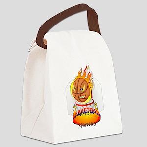 Basketball Canvas Lunch Bag