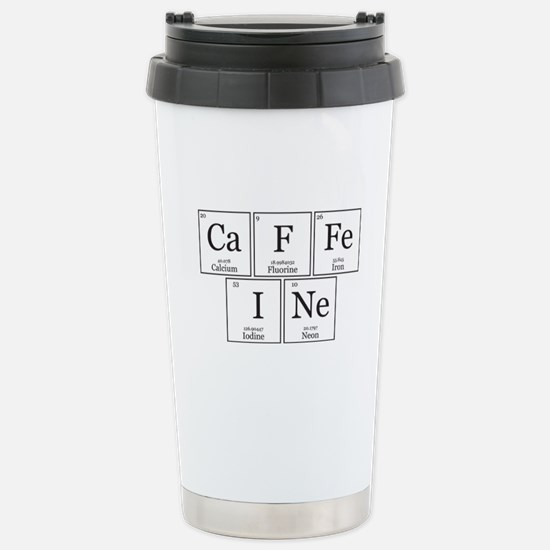CaFFeINe [Chemical Elements] Stainless Steel Trave