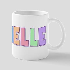 Rachelle Rainbow Pastel Mug