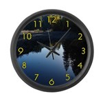 River Reflections Large Wall Clock