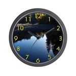 River Reflections Wall Clock