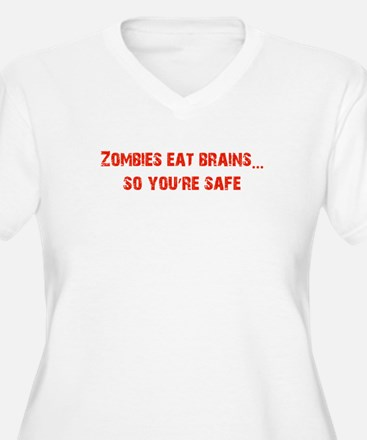 Zombies eat Brains! T-Shirt