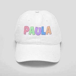 Paula Rainbow Pastel Cap