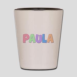 Paula Rainbow Pastel Shot Glass