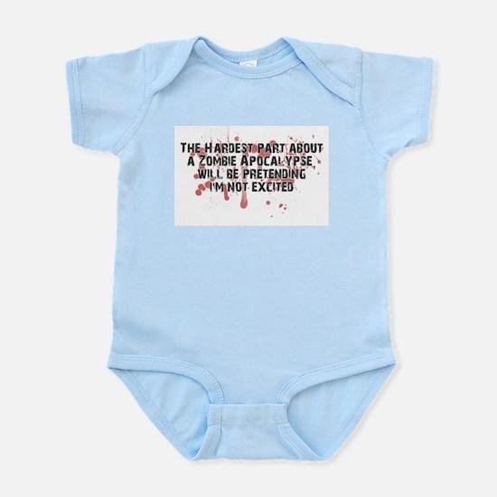 Zombie Apocalypse? Yes please! Infant Bodysuit