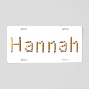 Hannah Pencils Aluminum License Plate