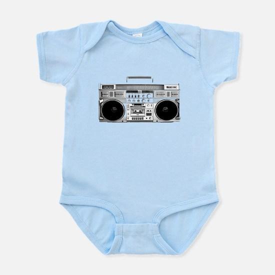 80s, Boombox Infant Bodysuit