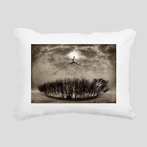 nirvana Rectangular Canvas Pillow