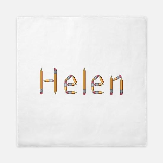 Helen Pencils Queen Duvet