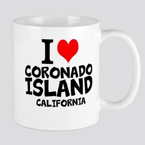 I Love Coronado Island, California Mugs