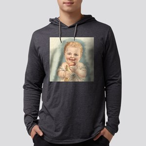 Happy Baby Mens Hooded Shirt
