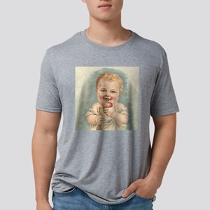 Happy Baby Mens Tri-blend T-Shirt