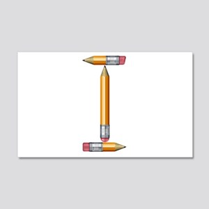 I Pencils 22x14 Wall Peel