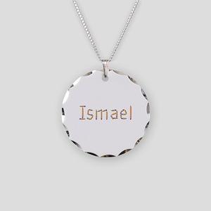 Ismael Pencils Necklace Circle Charm