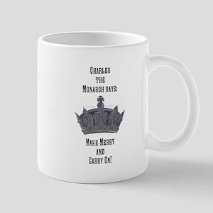 Make Merry and Carry On Mug