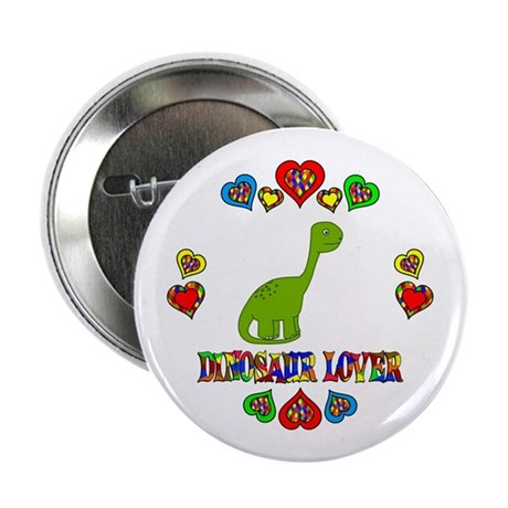 "Dinosaur Lover 2.25"" Button (100 pack)"