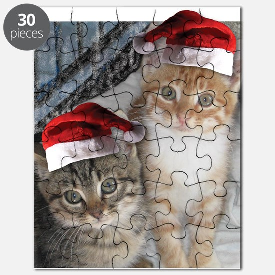 Christmas Tabby Cats Puzzle