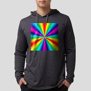 rainbow2 Mens Hooded Shirt