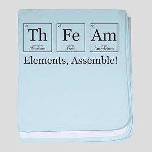 Elements, Assemble! baby blanket