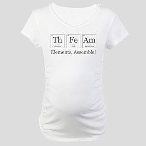 Elements, Assemble! Maternity T-Shirt