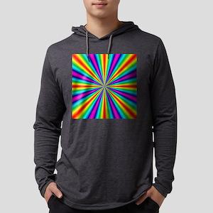 rainbow3 Mens Hooded Shirt