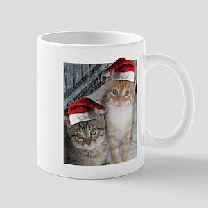 Christmas Tabby Cats Mug