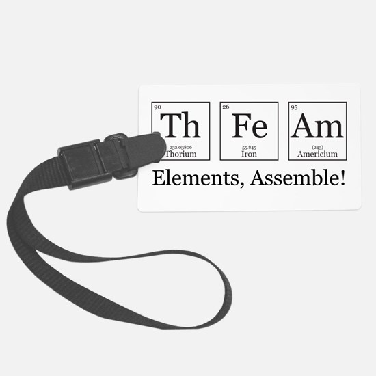 Elements, Assemble! Luggage Tag