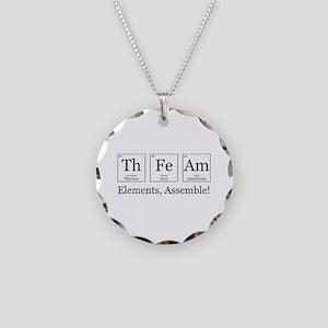 Elements, Assemble! Necklace Circle Charm