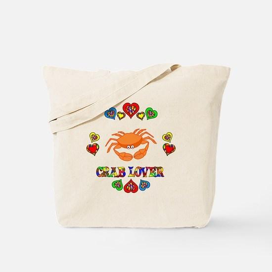 Crab Lover Tote Bag