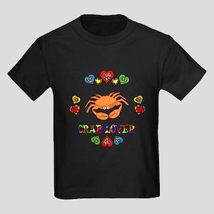 Crab Lover Kids Dark T-Shirt