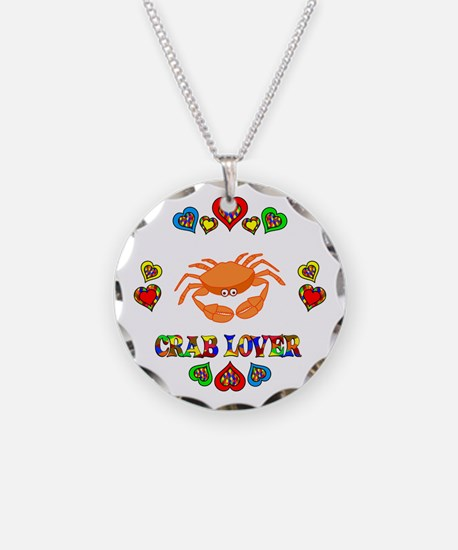Crab Lover Necklace