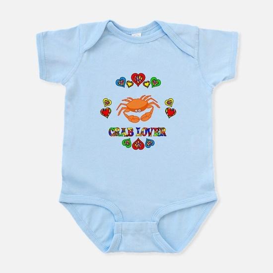 Crab Lover Infant Bodysuit