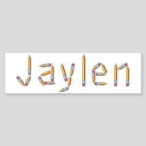 Jaylen Pencils Bumper Sticker