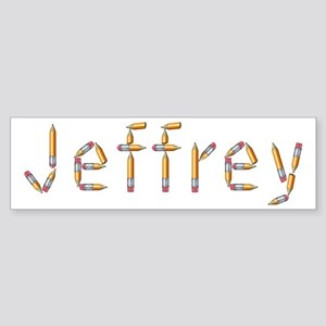 Jeffrey Pencils Bumper Sticker